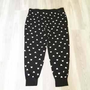 Deesse Fox Sleeping Pants Black Fox 3X